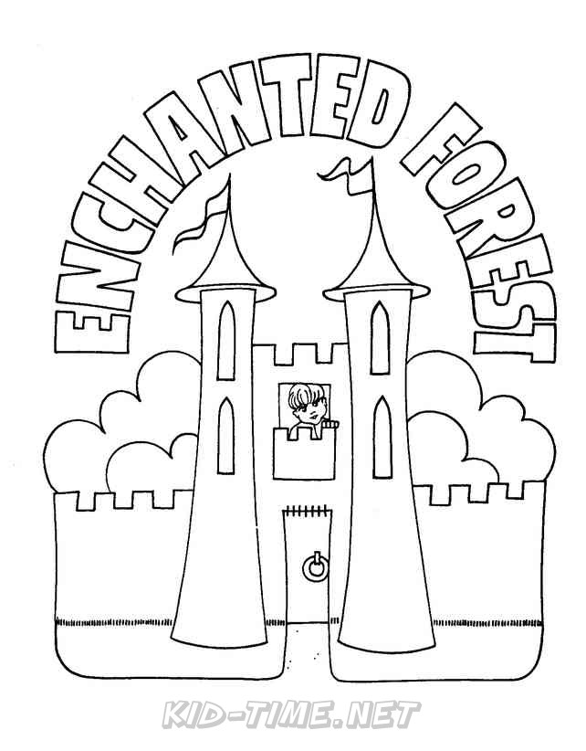 The Enchanted Forest BC Canada Coloring Book Pages Sheets ...
