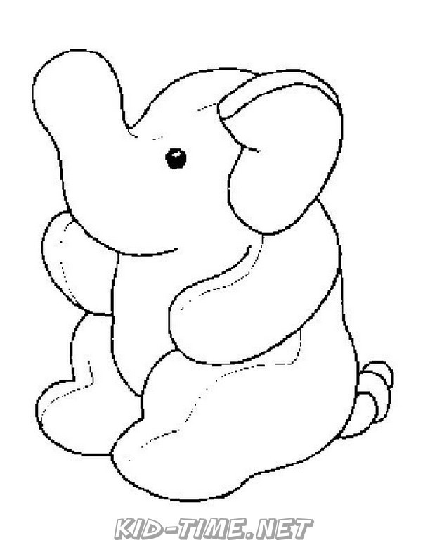 Elephant – Kids Time Fun Places To Visit And Free Coloring Book Pages  Printables