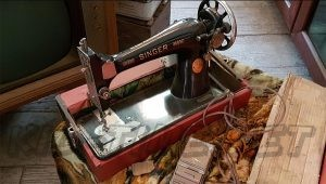 3 Valley Gap Historic Ghost Town - Sewing Machine